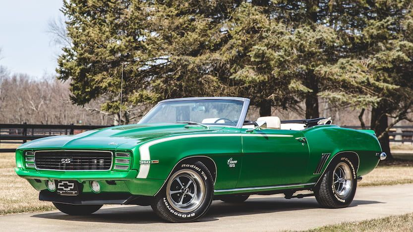 1969 Chevrolet Camaro RS/SS Convertible | T198.1 | Indy 2018 | Mecum Auctions