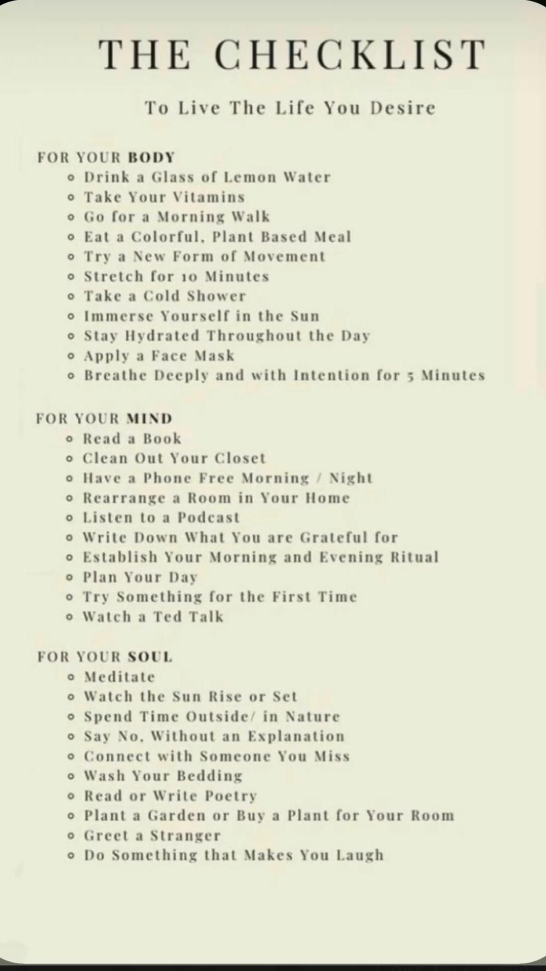 Tips for living the life you desire and stopping negative thoughts.