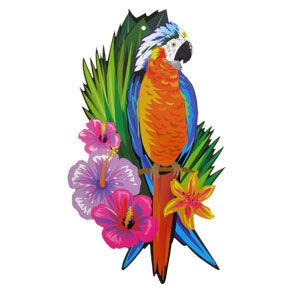 tropical bird coloring pages - photo#26