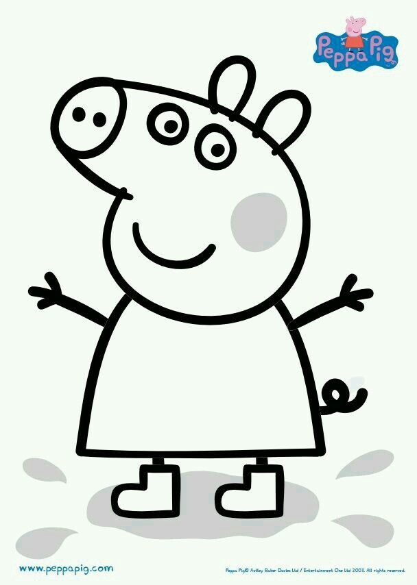 Peppa Pig Peppa Pig Coloring Pages Peppa Pig Colouring Unicorn Coloring Pages