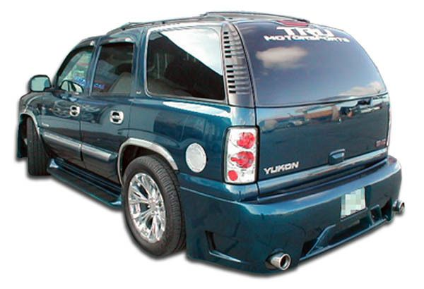 Duraflex 00 06 Chevy Tahoe Gmc Yukon Platinum Rear Bumper Cover