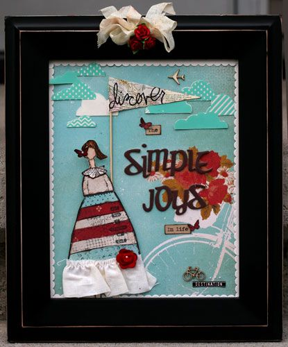 Sincerely Yours: Birds of a Feather June Kit featuring Glitz Design