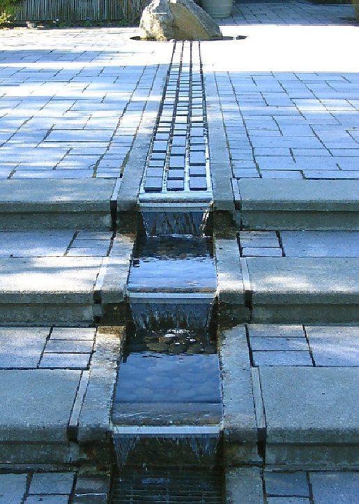 Water feature 9 runnel rec center ideas pinterest - Estanque terraza piso ...
