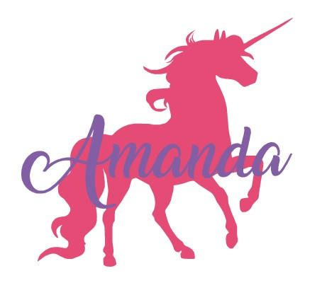 Unicorn Decal Vinyl Decal Personalized Unicorn Decal Unicorn - Custom vinyl decals macbook