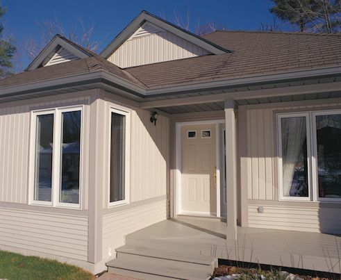 House With Vertical And Horizontal Siding 2012 Canpos