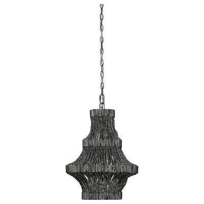 Jamie Young Company Camellia 1 Light Empire Chandelier Finish: Antique Silver