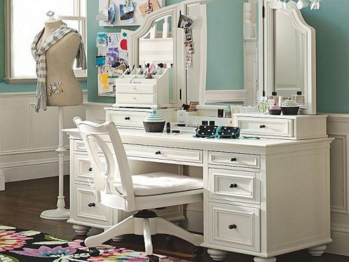 Unique large makeup vanity inspiration picture images bathrooms