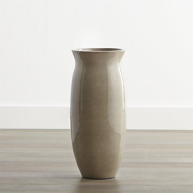 Hewett Short Ceramic Floor Vase Umbrella Stand Ben Umbrella Stands