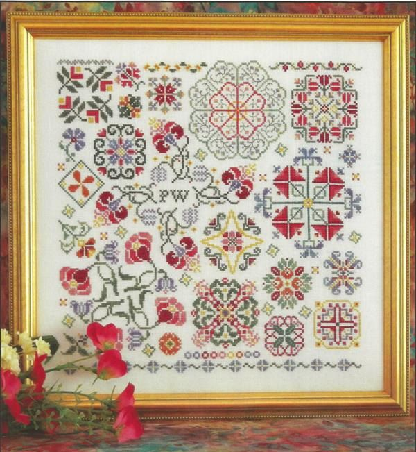 Inspiration Sampler Rosewood Manor Kluba Cross Stitch Pattern