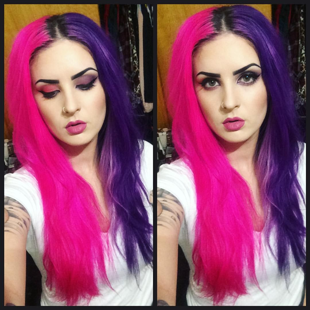 Purple and pink hair beauty pinterest hair purple hair and