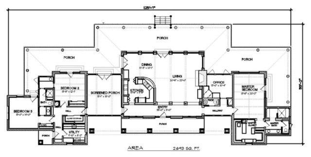Modern Ranch Home Plans Ranch House Floor Plans Floor Plans Ranch Ranch Style House Plans