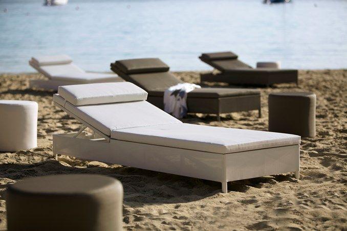 Rest sunbed - designed by Team Cane-line -