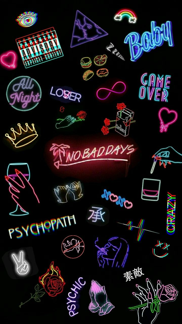 Good List Of Lock Screen Iphone Neon 2020 By Uploaded By User