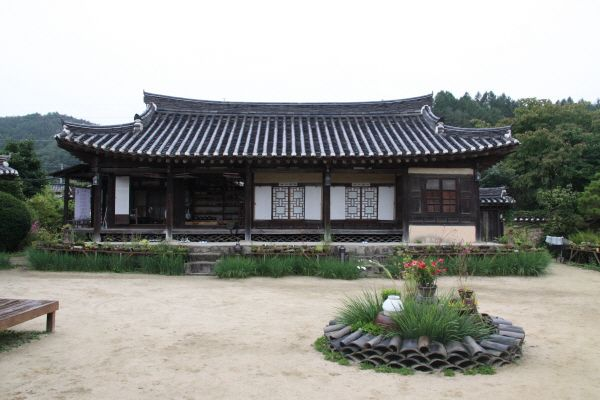 Traditional Korean House Hanok