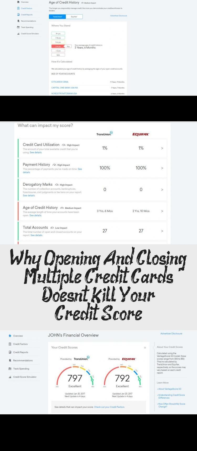 Why Opening And Closing Multiple Credit Cards Doesn T Kill Your