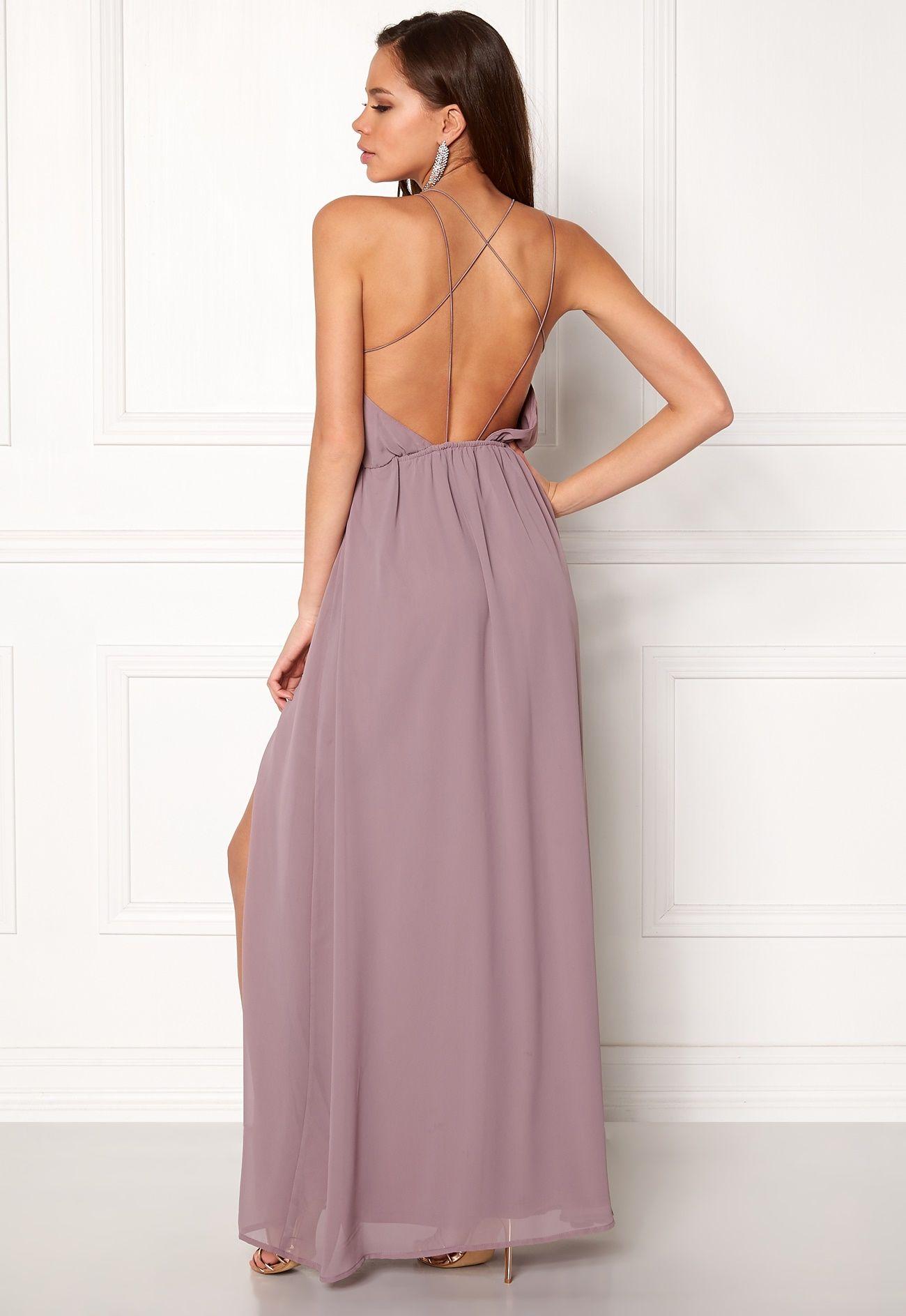 b9ff11d6034 Make Way Sierra Prom Dress Dusty lilac - Bubbleroom   team bride ...