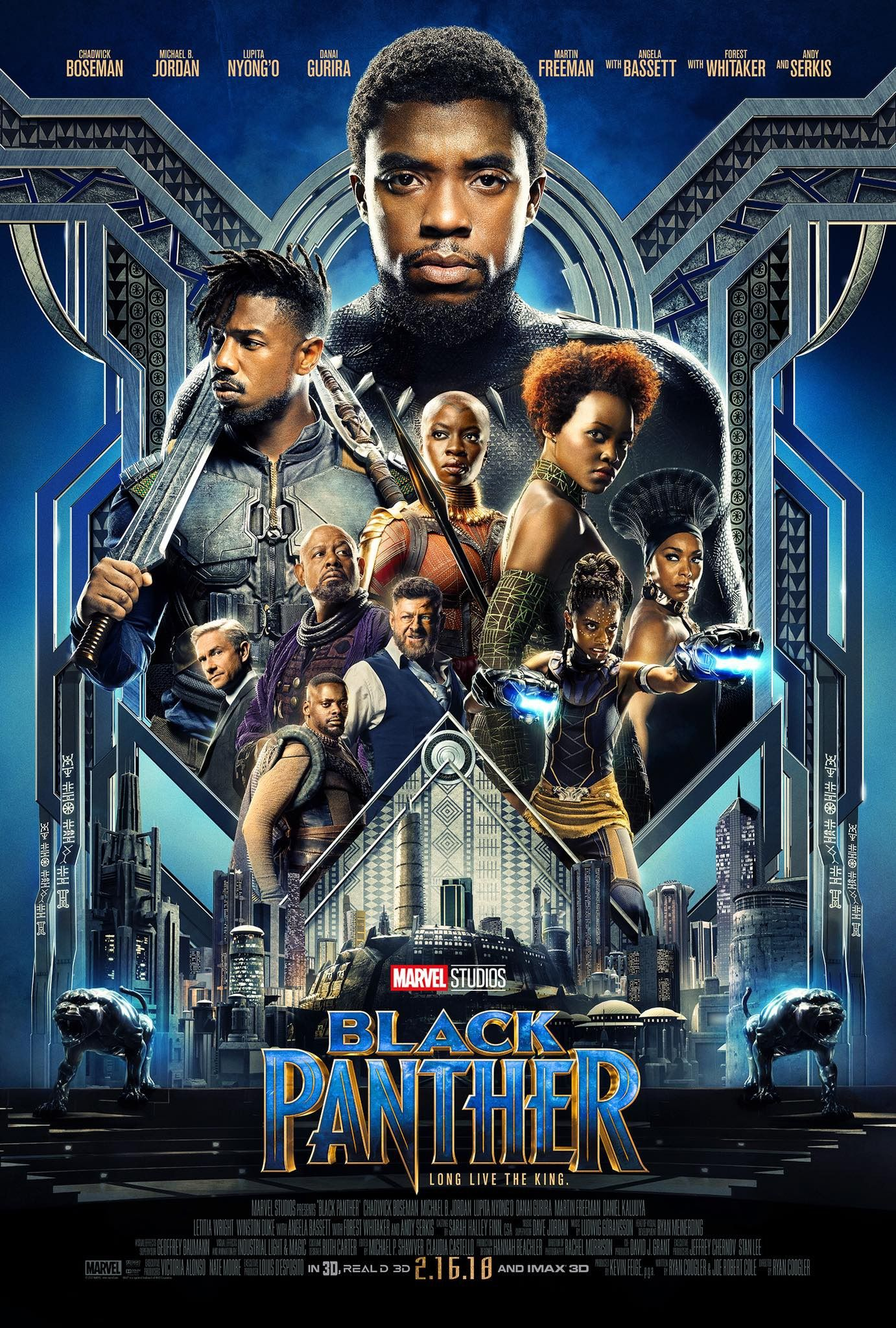 Return To The Main Poster Page For Black Panther 3 Of 3 Black