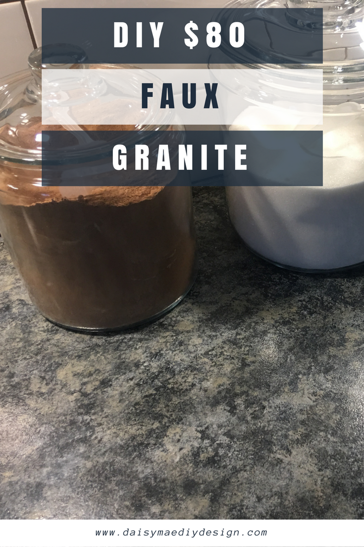 Diy Giani Granite Countertop Paint Kit 80 In Slate How To Kitchen Rehab On A Budget Laminate Transfo Countertop