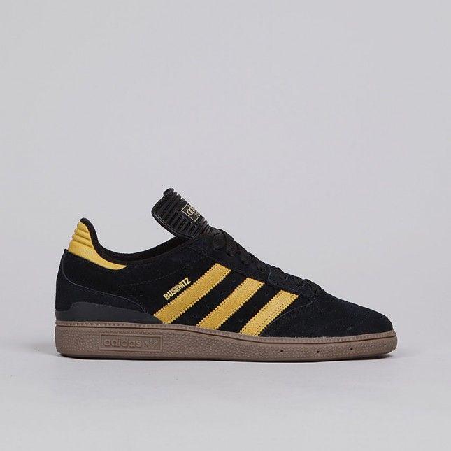 Adidas Busenitz negro amarillo, Nike SB & adidas