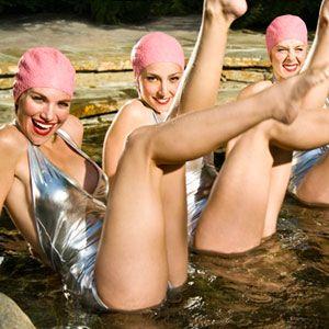 Synchronized Swimming #synchronizedswimming #synchro #Aqualillies