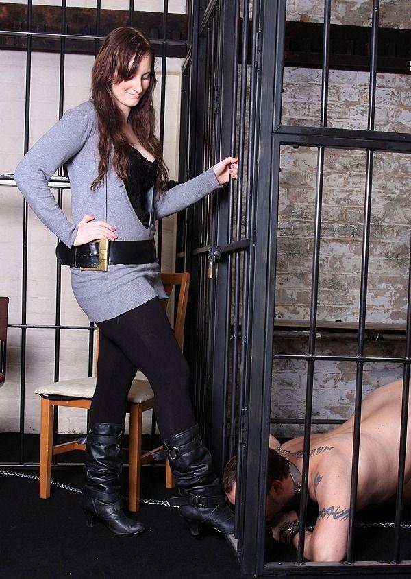 Men In Cages Female Supremacy Cage Men
