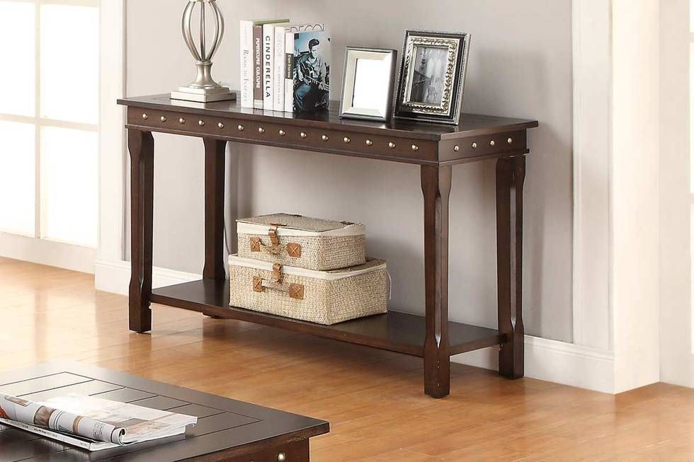 This Beautiful Console Table Boasts Of Cottage Style Adorned In - Cottage style console table