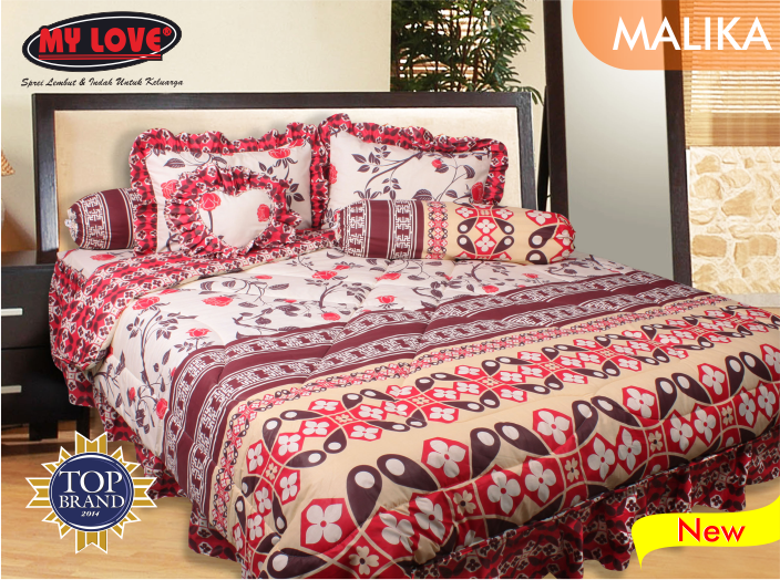 Sprei And Bedcover My Love Malika