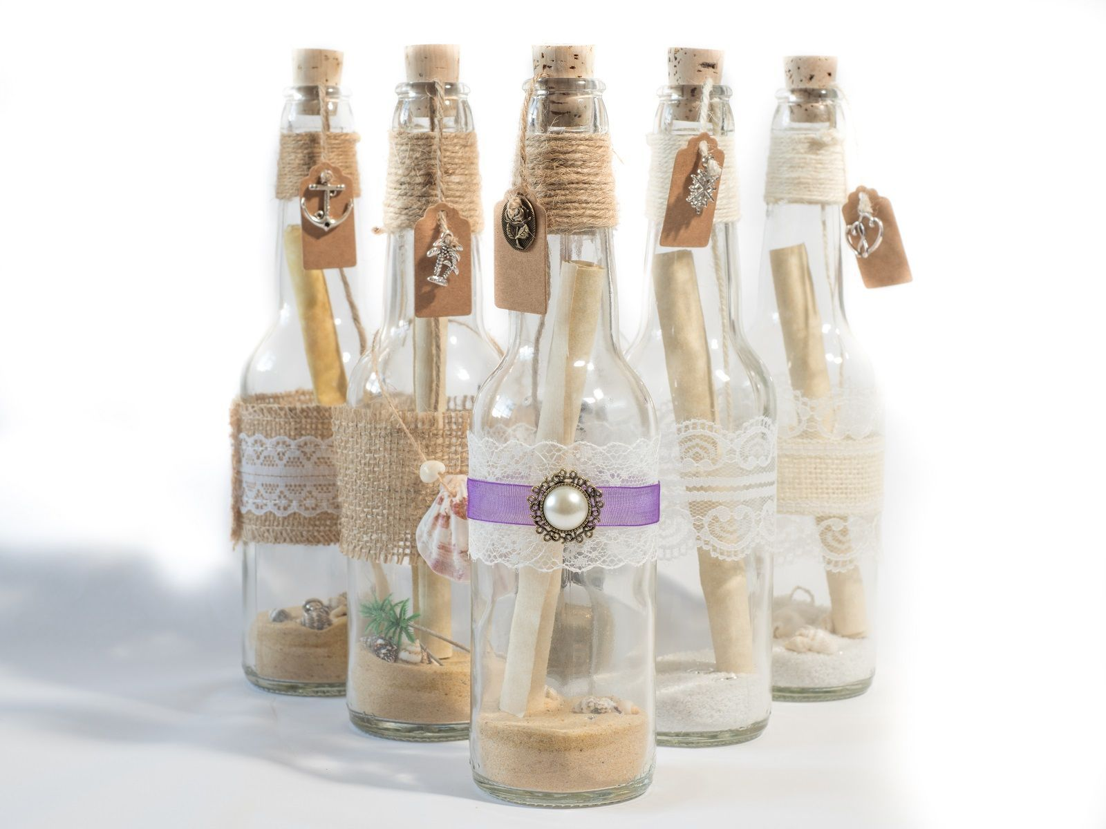 Message in a bottle invitations. Amaze your guests. Perfect for ...