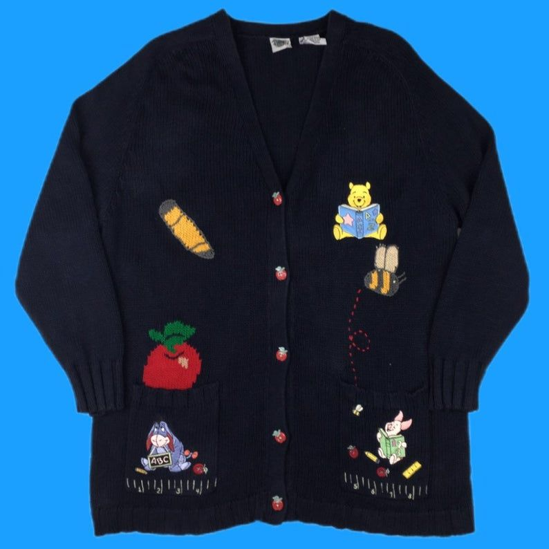 Bumblebee buttoned sweater