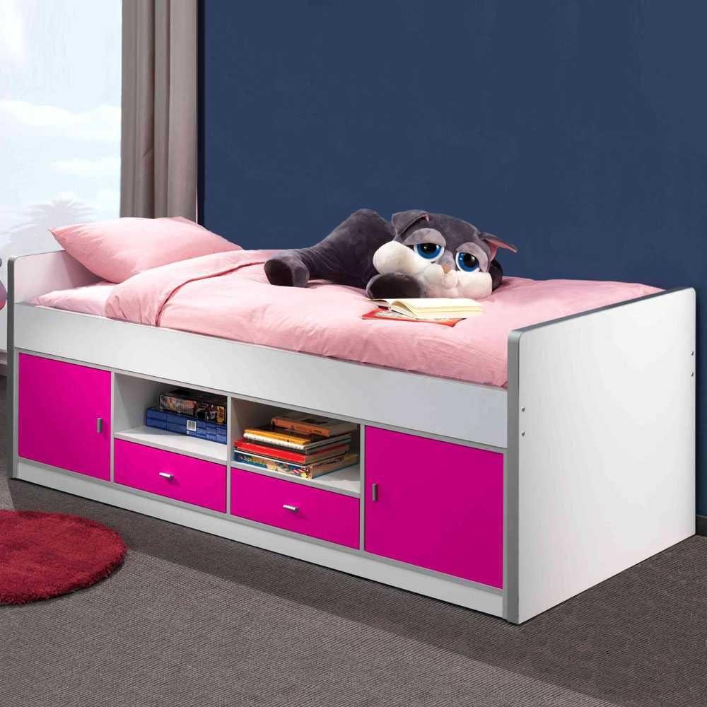 Astounding Kinderbett Stauraum Referenz Von In Pink-weiß Jetzt Bestellen Unter:
