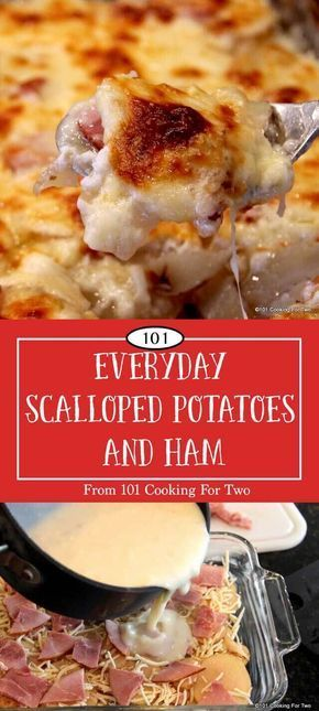 Everyday scalloped potatoes and ham recipe potluck dinner old fashioned scalloped potatoes and ham an excellent recipe for an everyday meal or potluck forumfinder Gallery