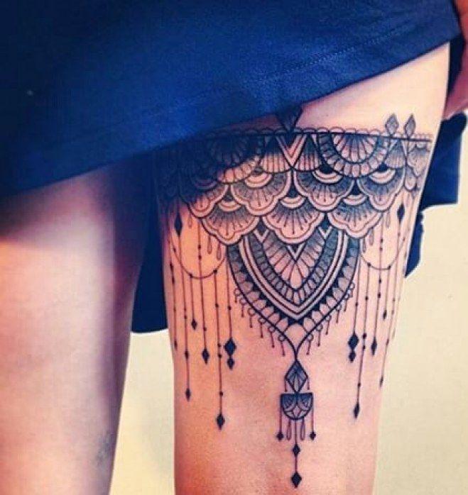101 Mandala Tattoo Designs For Girls To Feel Alive: 30 Tatouages De Mandalas Qui Vont Vous Faire Craquer