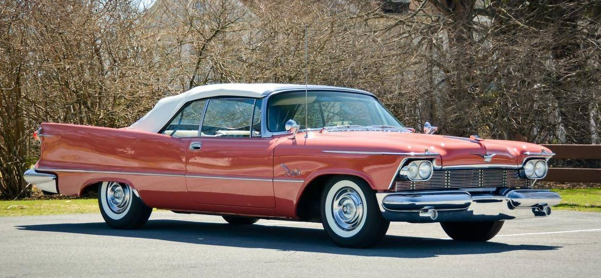1958 Imperial Crown Convertible With Images Chrysler Cars