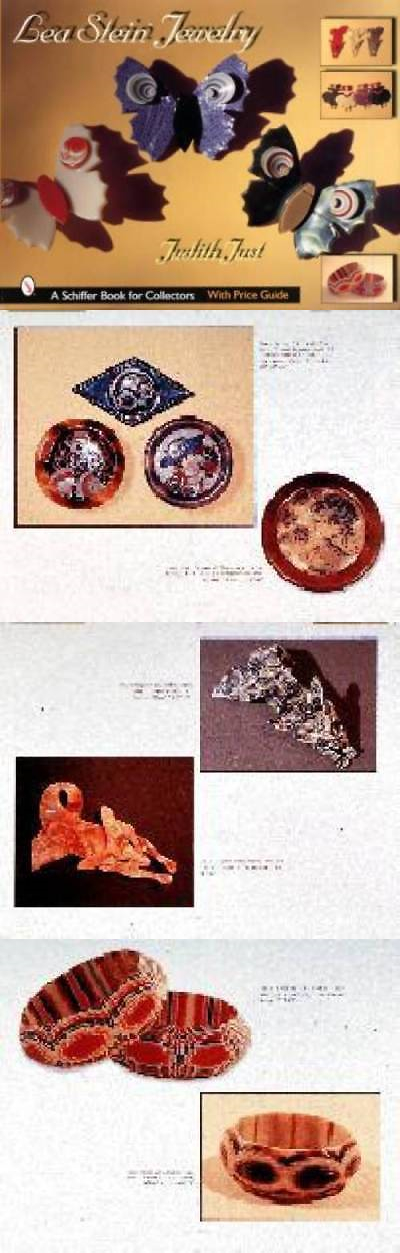 Price Guides and Publications 171122: Lea Stein Jewelry Book Vintage ...