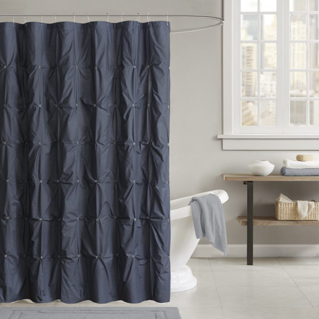 Thick Terry Cloth Shower Curtain