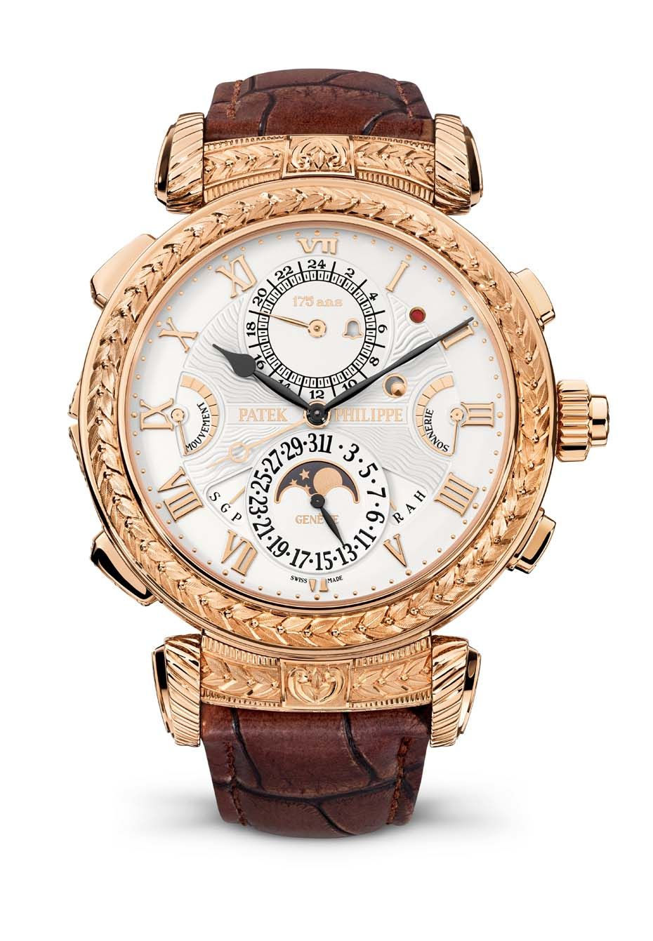 The 175th anniversary surprise from @patekphilippe was the most complicated wristwatch it has ever made: with 20 complications and a price tag of SFr 2.5 million. #swisswatches #patekphilippe