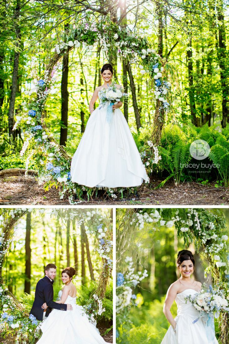 This Bride Looks Ethereal Surrounded By Stunning Flower Wedding