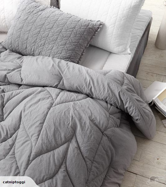 Soft Grey Comforter Set   Queen Size Also available in Pink A comforter so  soft you. Vintage Ruffle Duvet Cover from Full Bloom Cottage  Love the