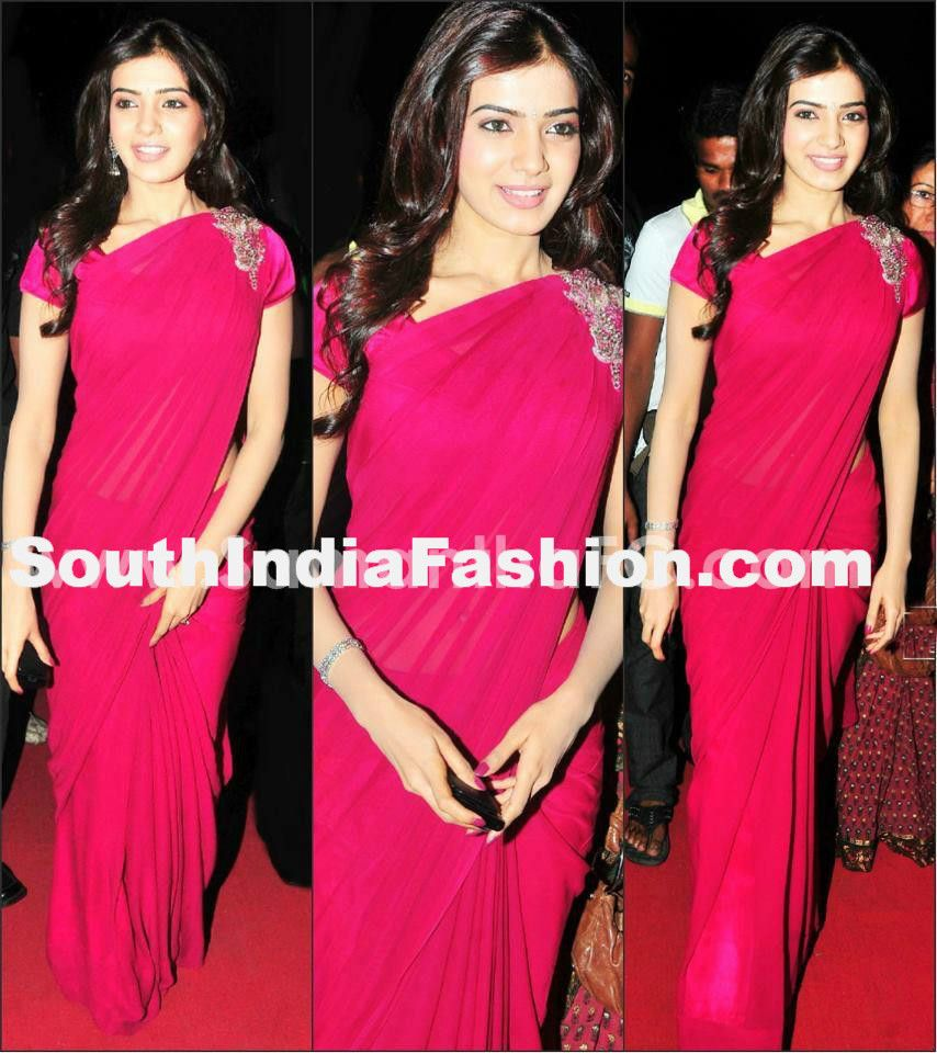 How to saree wear brooch