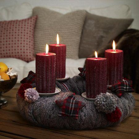 adventskranz basteln ideen zum selbermachen advent pinterest weihnachten adventskranz. Black Bedroom Furniture Sets. Home Design Ideas
