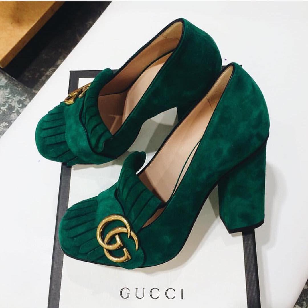 Gucci 'Marmont' pumps | pinterest
