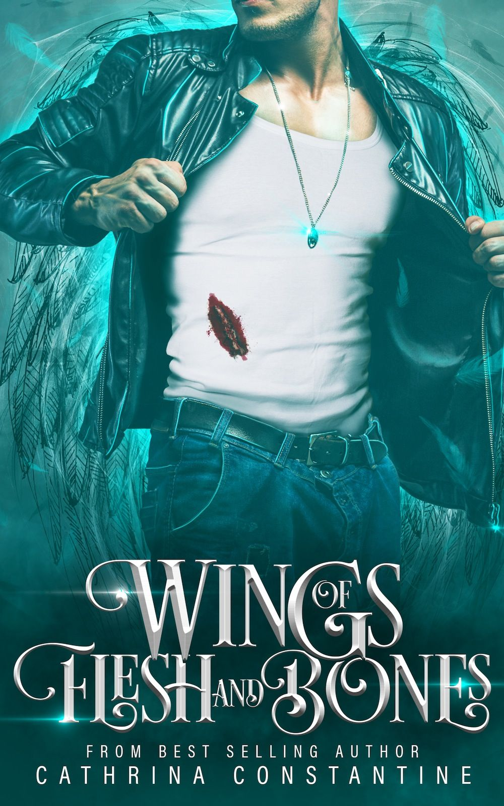 Wings of Flesh and Bones by Cathrina Constantine - Cover Reveal