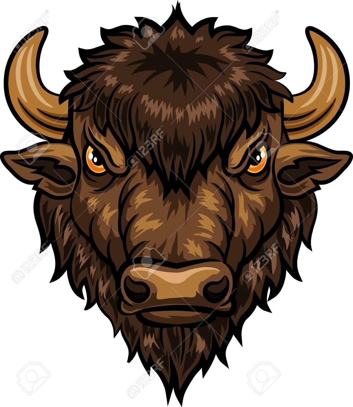 Stock Vector Woodcut art, Illustration, Bull tattoos