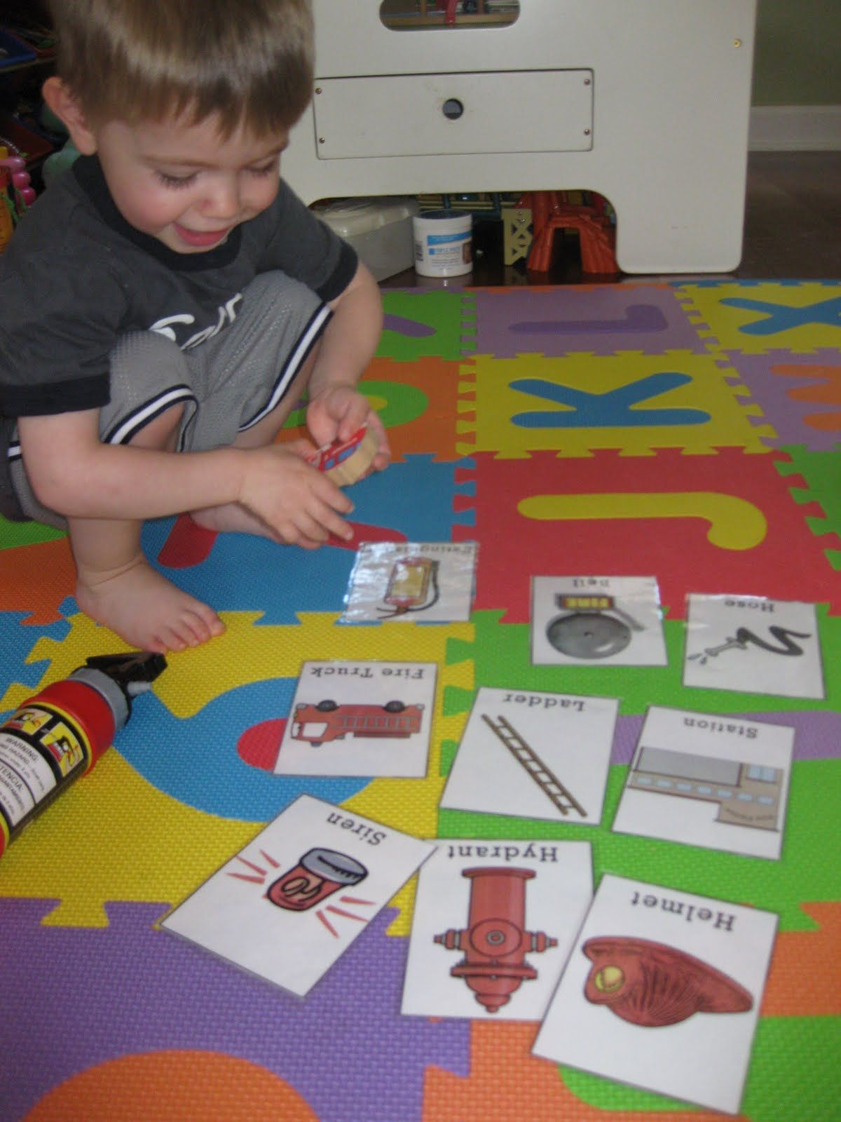 Firefighter Preschool Art Activities Helpful Early