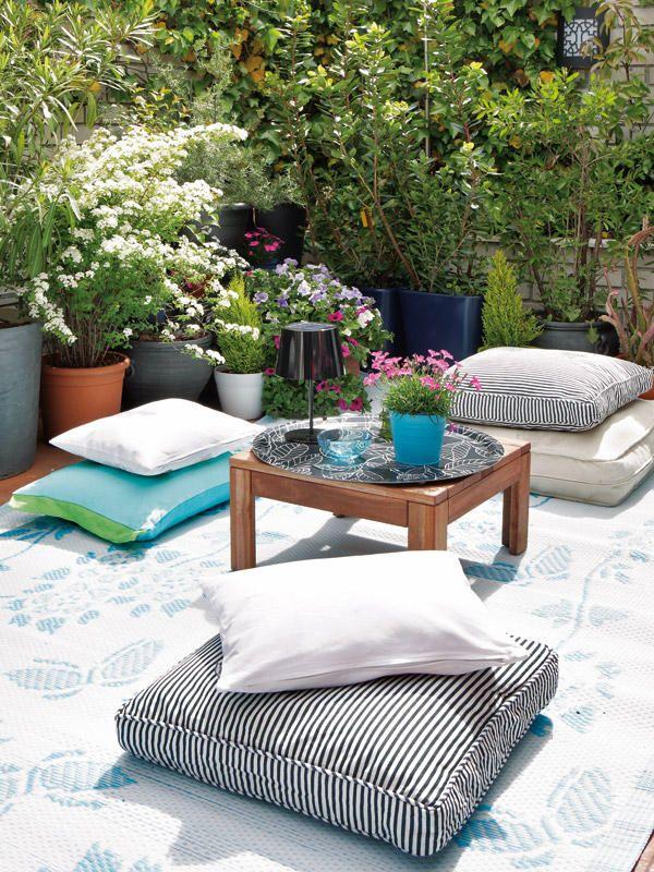 Pin de Sandra en Outdoor Pinterest Patios, Ideas terraza y Jardín - jardines en terrazas
