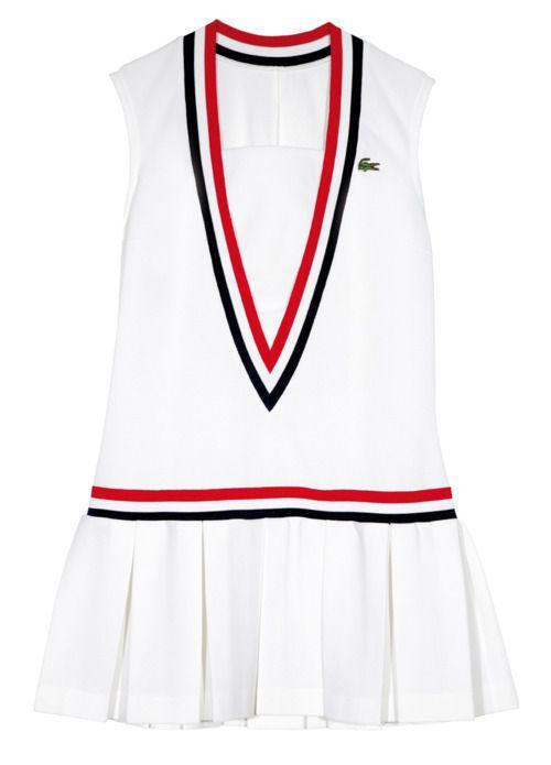 Lacoste Tennis Dress 1974 C Pressagrum Lacoste Lacoste Tennis Dress Tennis Dress Tennis Fashion