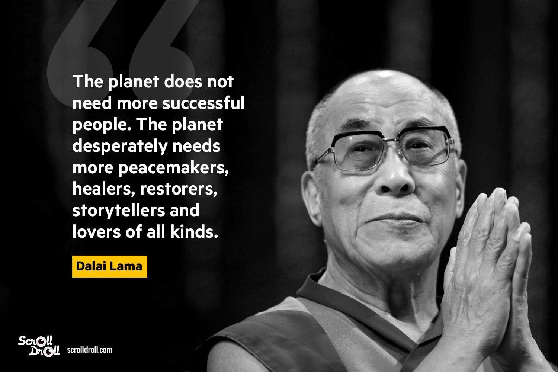 Dalai Lama Quotes On Life And Work