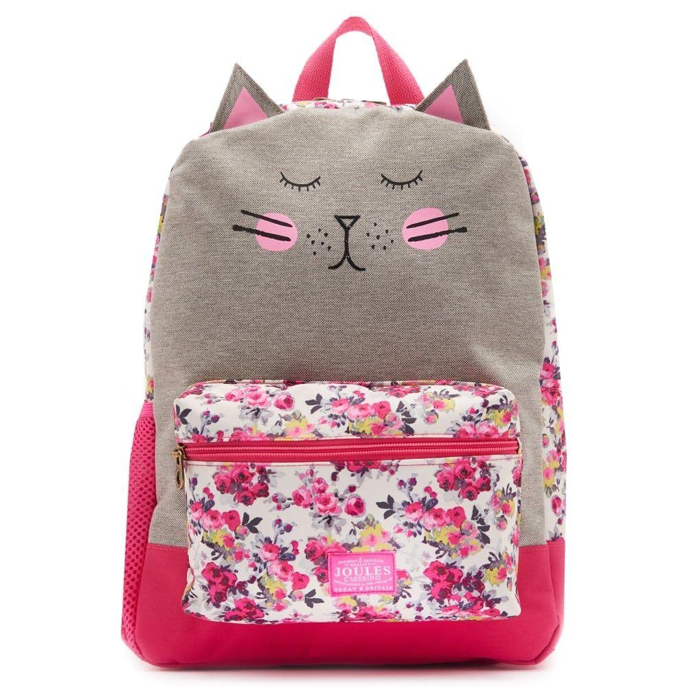 Zippyback Junior Girls' Cat Backpack | Cat backpack, Backpacks and ...