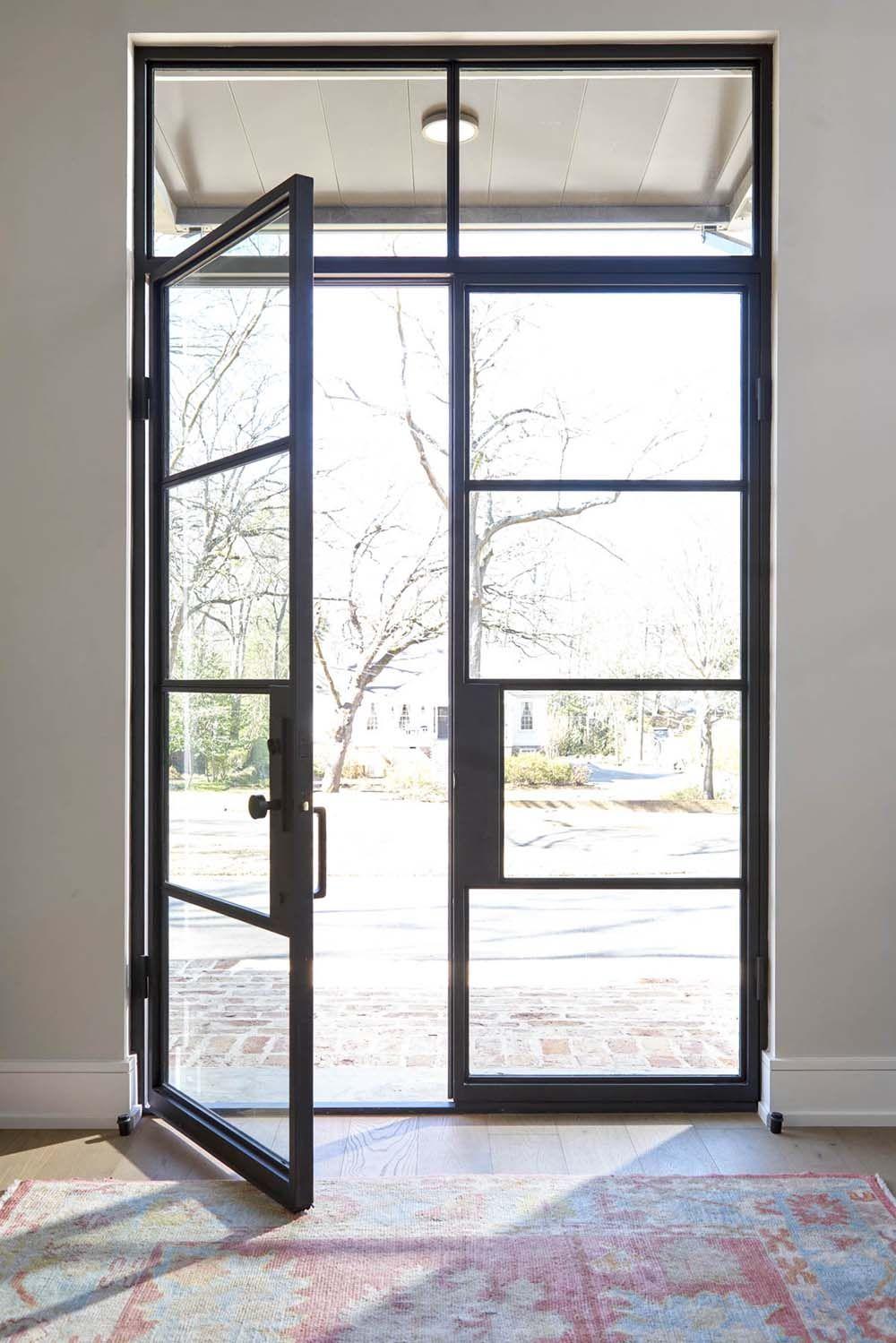 Steel Windows And Doors By Metro Steel Steel Front Door Steel