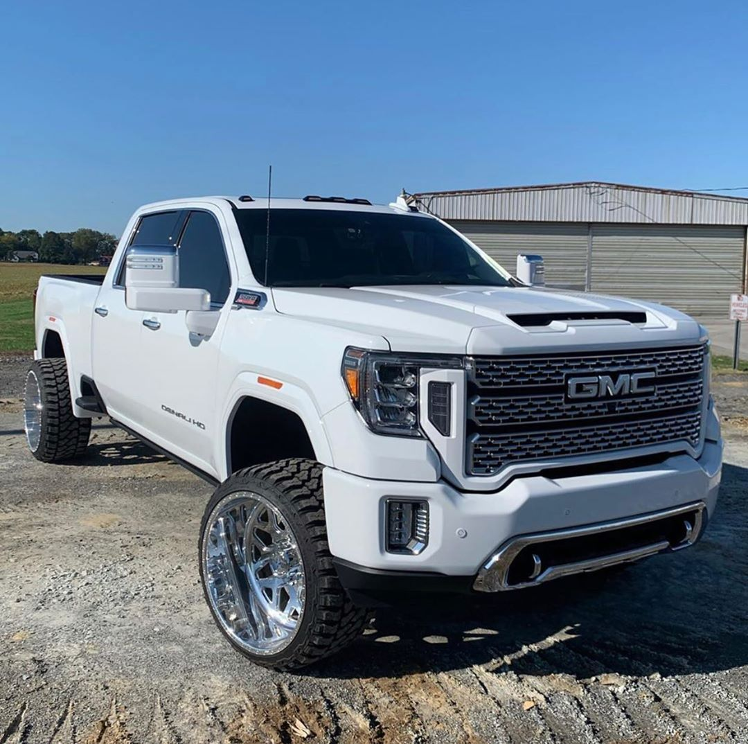 2 713 Likes 9 Comments 2020 Gmc Sierra Hd 2020gmhd On Instagram Durrrrtymax Did Some More Paint Work On H Denali Truck Gmc Denali Truck Chevy Vehicles